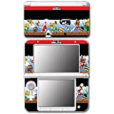 New Super Mario Bros 2 Party 3D Land World Enemy Hammer Bros Ghost Goomba Video Game Vinyl Decal Skin Sticker Cover for Original Nintendo 3DS XL System by Vinyl Skin Designs [並行輸入品]