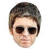 Noel Gallagher Celebrityマスク、カード面とファンシードレスマスク