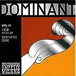 Dominant ドミナント 4/4バイオリン弦セット(E線スチール、ボールエンド)