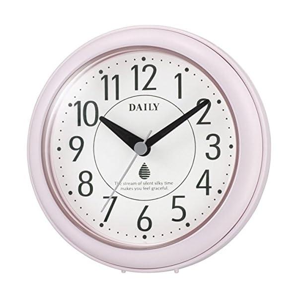リズム時計 DAILY 掛け時計 防滴防塵 アク...の商品画像