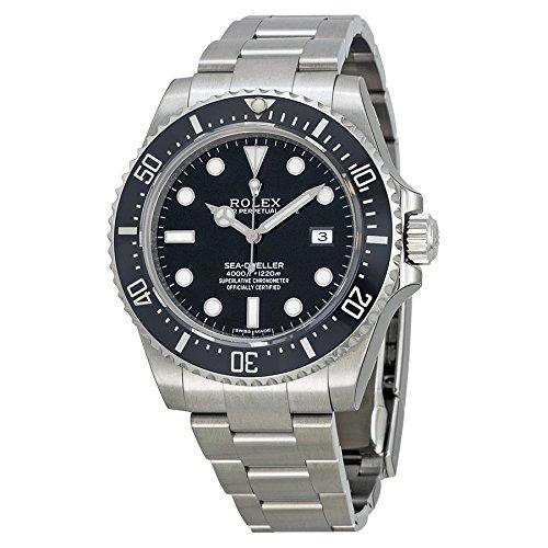 Rolex(ロレックス) Sea-Dweller 4000 Black Dial Stainless Steel Men's Watch シードゥ エラー 4000 ブラック ダイアル ステンレス メンズ腕時計 [並行輸入品]
