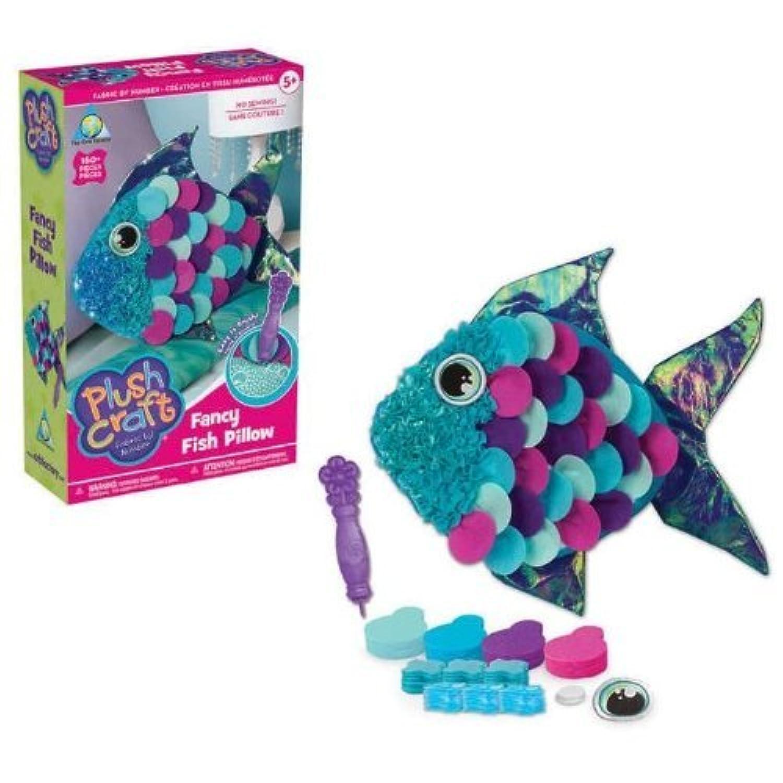 PlushCraft Fish Pillow [並行輸入品]