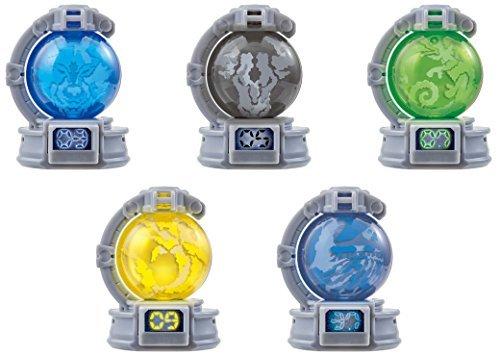 ガシャポン 宇宙戦隊キュウレンジャー キュータマ01 5種コンプ