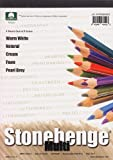 Stonehenge Paper 15 Sheet Multi-Pad 10.9x14 - Assorted Colors by Stonehenge Paper