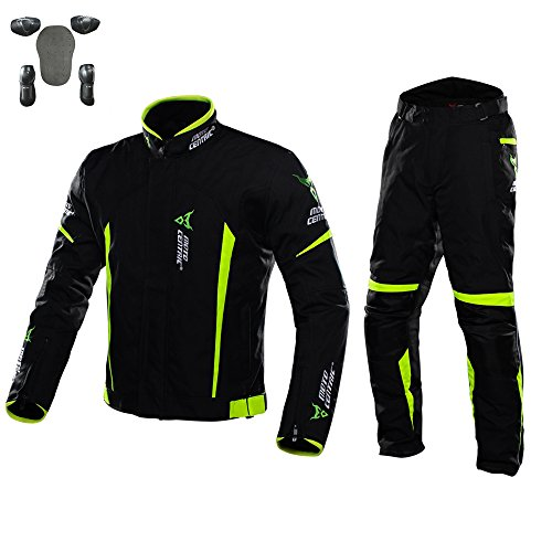 ALI-MC バイクメッシュメンズジャケットとパンツは、保護...