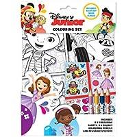 Disney Junior ColouringセットChildrensアクティビティステッカーパーティーFavourギフト