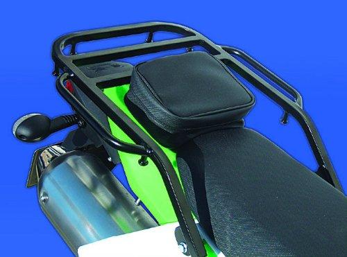 ライディングスポット(RIDING SPOT) リアキャリア スチール製 288×150mm ブラック D-TRACKER X [ディートラッカー](08-13) KLX250 (2008)