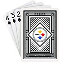 NFL Pittsburgh Steelers Playing Cards (クラシックバック、Oneデッキ)