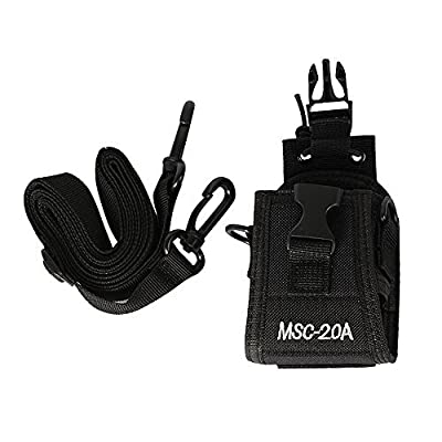 Marvogo 3in1 Multi-Function Universal Pouch Bag Holster Case for Two Way Radio Transceiver Walkie Talkie