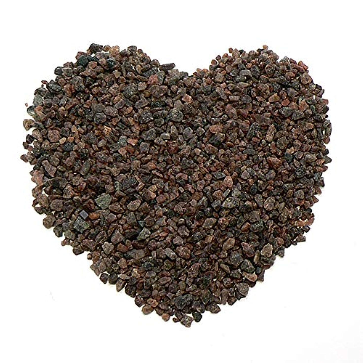 から派手敵対的ヒマラヤ岩塩 ブラックソルト 入浴用 バスソルト(小粒)2kg 黒岩塩 ブラック岩塩