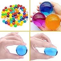 大きな水ビーズ8オンス(250個)子供用触覚玩具と花瓶フィラー用ジェルボールゼリークリスタルウォーターボール