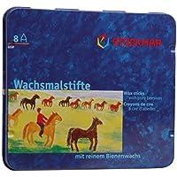 Stockmarワックススティッククレヨン – 8色by Stockmar