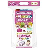 森永 E赤ちゃん エコらくパック はじめてセット 800g (400g×2袋)