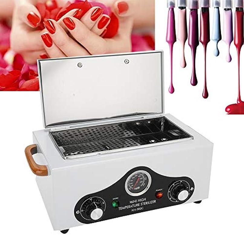 祝福クラシカルフィヨルド高温滅菌器、美容院スパ機器クリーニングツール用のプロフェッショナル300度消毒キャビネット(White1)