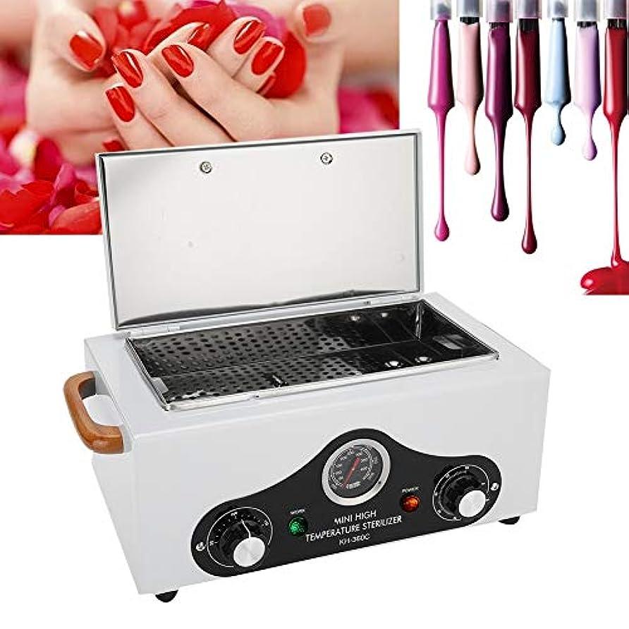 採用するアクセル閲覧する高温滅菌器、美容院スパ機器クリーニングツール用のプロフェッショナル300度消毒キャビネット(White1)