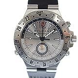 BVLGARIディアゴノ プロフェッショナルGMT40S メンズ 腕時計自動巻 シルバー文字盤男性用 ウォッチ