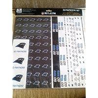 NFL Carolina patnthers Scrapbookキット