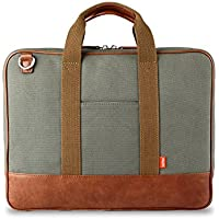 Toffee Piccadilly Briefcase - with Padded Notebook Compartment (13-inch)