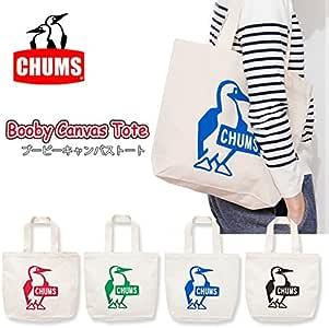 (チャムス)chums トートバック Booby Canvas Tote ブービーキャンバストート CH60-2149 正規品 Red-R001 ch60-2149-16-Red