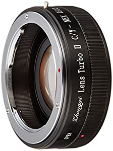 中一光学 (ZHONG YI OPTICS) フォーカルレデューサー マウントアダプター Lens Turbo II C/Y-NEX (コンタックス・ヤシカマウントレンズ → ソニーNEX/α.Eマウント)