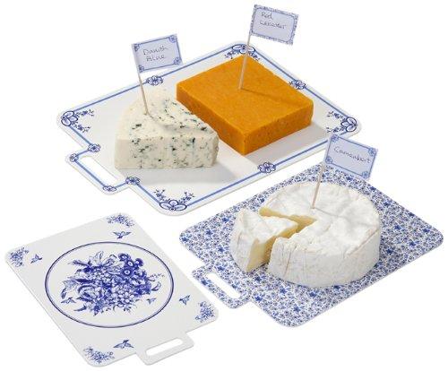 Talking Tables(トーキングテーブル)チーズボード/ポーセリンブルー(ピック付き)
