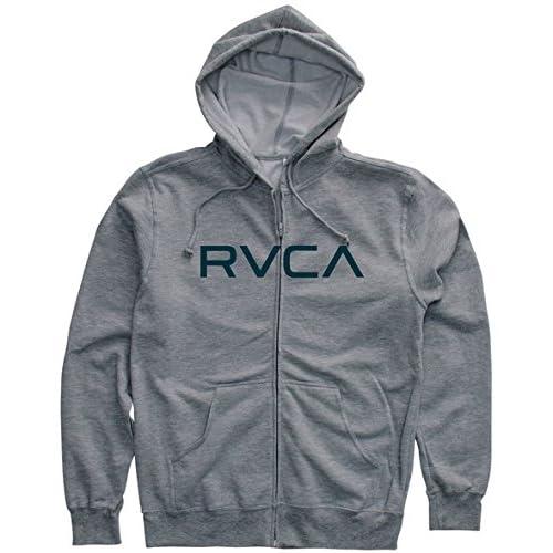 RVCA(ルーカ) メンズ ジップアップパーカー BIG RVCA ZIP(ビッグルーカ) ATH M(USサイズ)