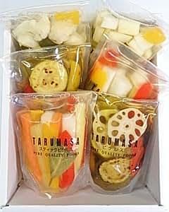 樽正(TARUMASA)ピクルス 3種 6個セット (スティックピクルス ミックスピクルス 野菜のオイル漬)