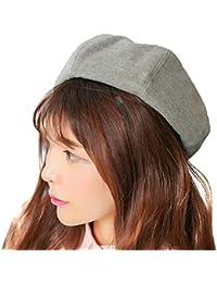 CJXX フェミニンスタイルベレー帽 フェルト ニットキャップ 帽子 レディースファッション 初心者でも簡単に被れる 女性用 レディースベレー帽