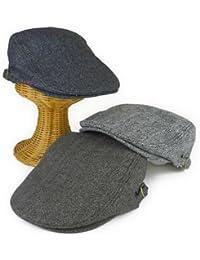 ノーブランド品 ウールジャガードハンチング ヤング帽子