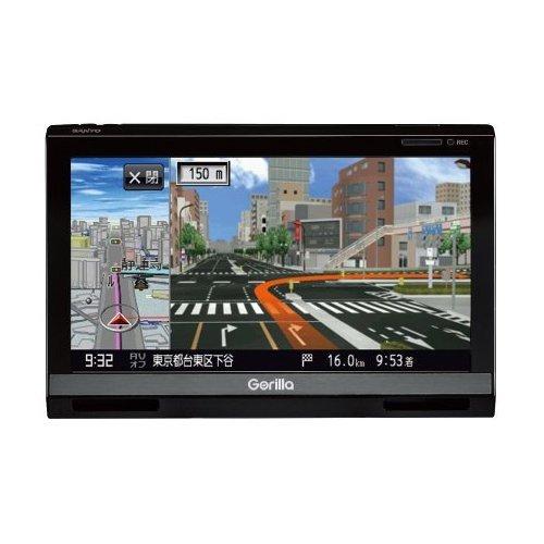 三洋電機 Gorilla 地上デジタルTVチューナー内蔵SSDポータブルナビゲーション 6.2V型 NV-SD650FT