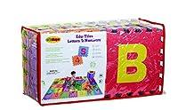 Edushape Edu-Tiles 36 Piece 6x6ft Play Mat, Letters & Numbers Set by Edushape [並行輸入品]