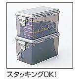 ナカバヤシ キャパティ ドライボックス 防湿庫 27L グレー 97025 画像