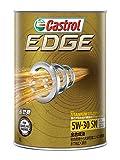 CASTROL(カストロール) エンジンオイル EDGE 5W-30 SN/CF/GF-5 全合成油 4輪ガソリン/ディーゼル車両用 1L [HTRC3]