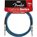 Fender ケーブル Fender® California Instrument Cable, 10', Lake Placid Blue