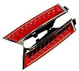【Wepperin wolks】 日産 エクストレイル T32 専用 増設 LED テールランプ ブレーキ スモール ポジション レッド