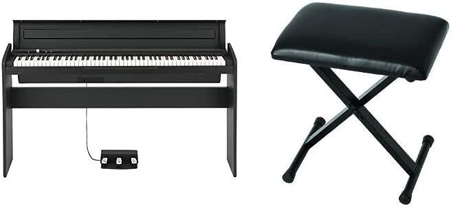 KORG 電子ピアノ LP-180-BK 88鍵 ブラック 椅子セット