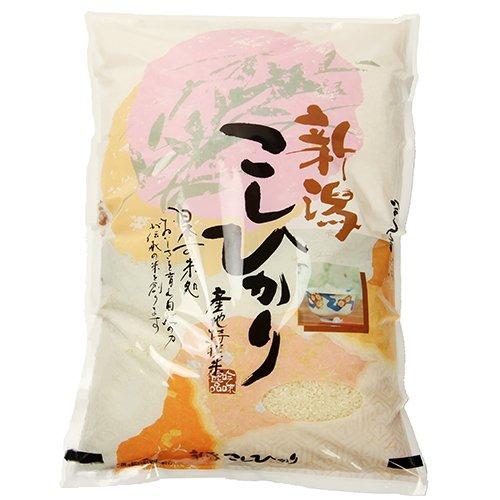 新潟産 無農薬・無化学肥料の特別栽培米コシヒカリ 玄米5kg 石倉農園