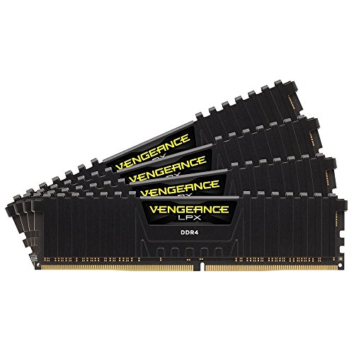CORSAIR DDR4 デスクトップPC用 メモリモジュール VENGEANCE LPX Series 16GB×4枚キット CMK64GX4M4A2666C16