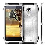 HOMTOM HT20スマートフォン アウトドア IP68防水・防塵・耐衝撃・屋外用・指紋認識・4.7inch IPS HD 1280*720 4G LTE MT6737 Quad Core 2 + 16 GB Android 6.0 13.0Mカメラ3500mAh スマートジェスチャー ・Hotknot・OTG・SIM ロックフリースマートフォン (ホワイト)