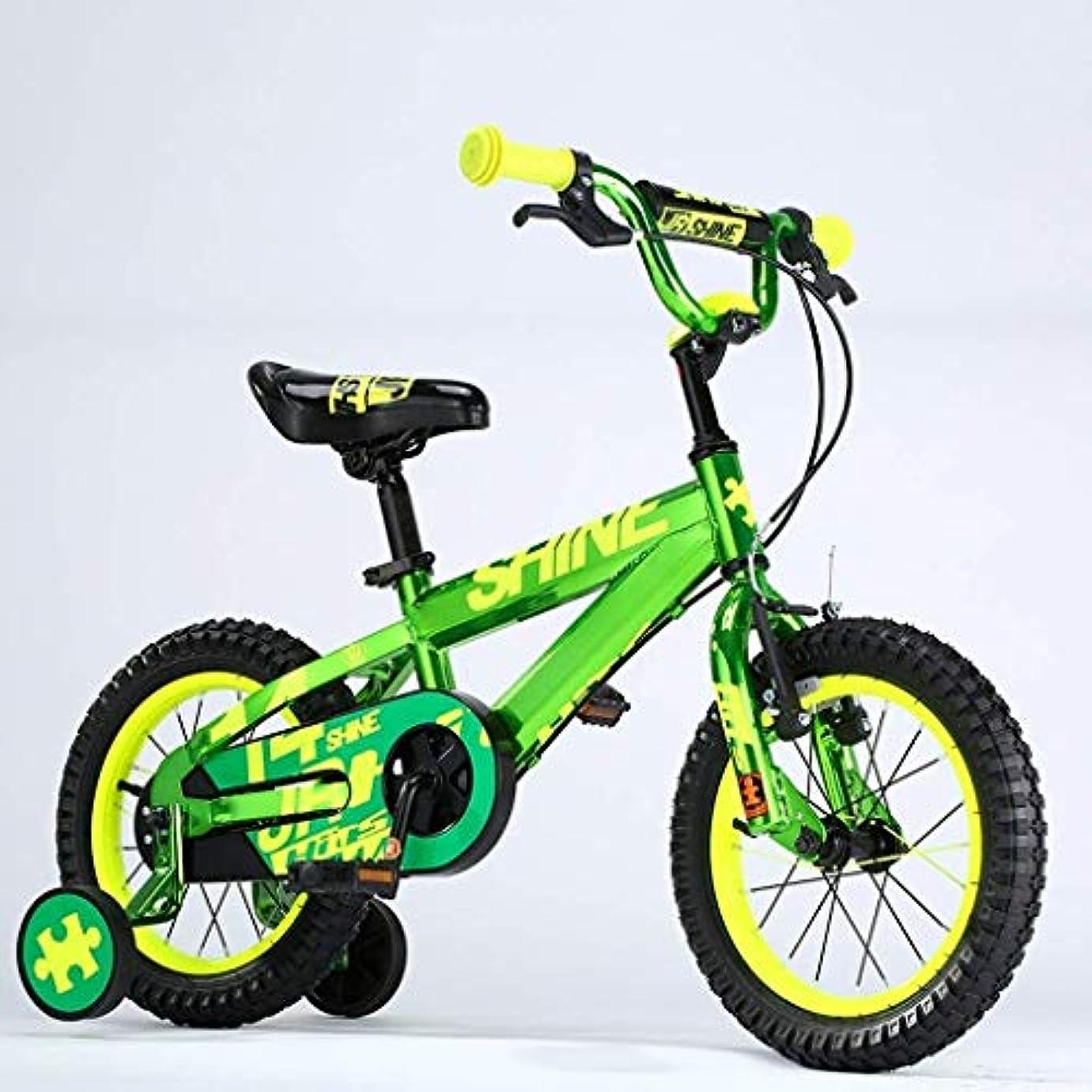 湖ミネラル汚染するスポーツアウトドアコミューターシティロードバイク自転車旅行子供用自転車  2-4歳の男の子と女の子  の高さ85-105cm の  12インチ