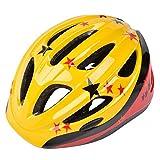 パラディニア(Paladineer)子供用自転車ヘルメット キッズヘルメット 48~60cm サイズ調整可能 ジュニア 超軽量 高剛性 イエロー