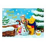 ダイゴー ディズニー sisa 3Dポストカード プーサンの雪遊び S3531 ¥ 540
