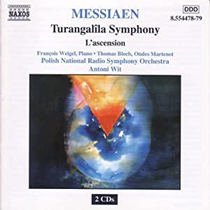 Messiaen: Turangalila Symphony/L'ascension