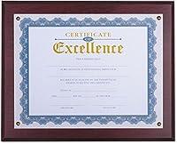 """ユニバーサルOffice製品–Award Plaque、131/ 3"""" x 11インチ、マホガニー(unv76825) (76825)"""
