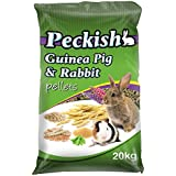 Peckish 00240 Guinea Pig and Rabbit Pellets, 20kg