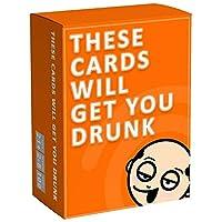 これらのカードは、あなたが友人や家族の楽しい大人の飲酒ゲームで酔って取得します