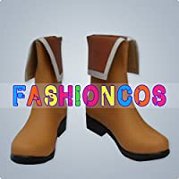 ★サイズ選択可★女性23CM UD100 境界の彼方 新堂愛 しんどう あい コスプレ靴 ブーツ