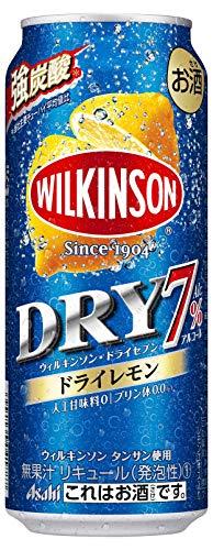 ウィルキンソン ドライセブン ドライレモン チューハイ 500ml×24本