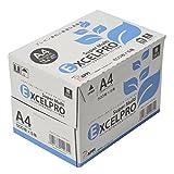 コピー用紙 A4 ペーパーエクセルプロスーパーマルチ 高白色高平滑 2500枚 (500×5)
