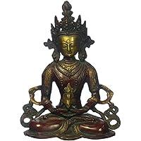 ガンジスインディアAparmita – The Buddha of無限ライト真鍮Statue